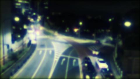 City lights,Blur nights Footage