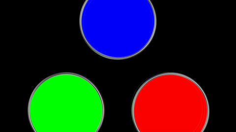 Mixing colors (RGB) Animation