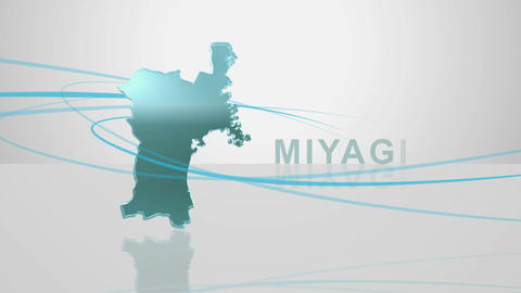 H Dmap c 04 miyagi Stock Video Footage