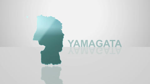 H Dmap c 06 yamagata Stock Video Footage