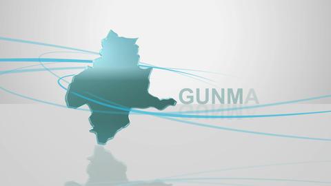 H Dmap c 10 gunma Stock Video Footage