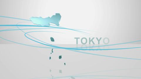 H Dmap c 13 2 tokyo Stock Video Footage