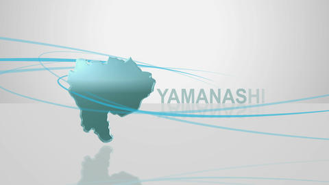 H Dmap c 19 yamanashi Stock Video Footage