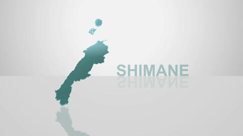 H Dmap c 32 shimane Stock Video Footage