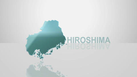 H Dmap c 34 hiroshima Stock Video Footage