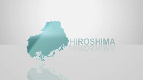 H Dmap c 34 hiroshima Stock Video Footage
