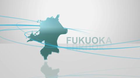 H Dmap c 40 fukuoka Stock Video Footage