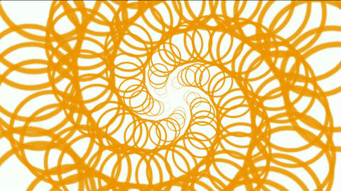 spin circle magnetic wire and swirl fiber optic chain,tech web lines,tunnel hole Animation
