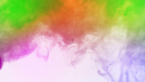 Colored smoke Stock Video Footage