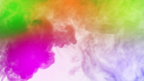 Colored Smoke stock footage