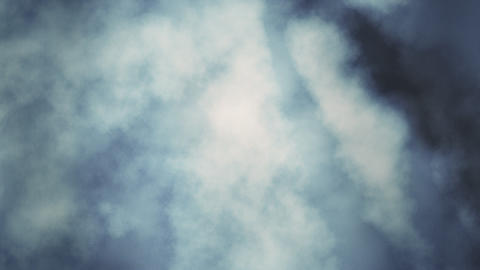 Loopable Turbulent Heavenly Clouds Animation
