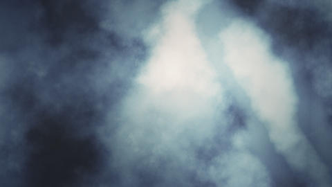 Loopable Turbulent Heavenly Clouds Stock Video Footage