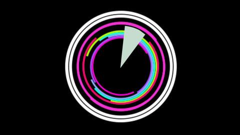 circle 02 Stock Video Footage