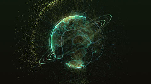 planet green Animation