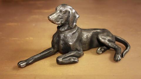 dog figurine Footage