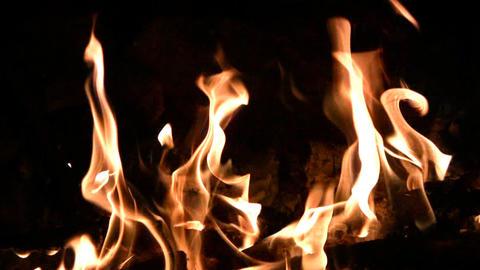 Fire dance Stock Video Footage