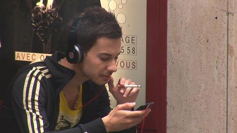 smoker Stock Video Footage