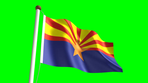 Arizona flag Animation