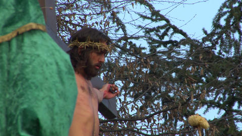 cross christ 03 Stock Video Footage