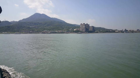 Boat trip from Tamsui to Bali district Live Action