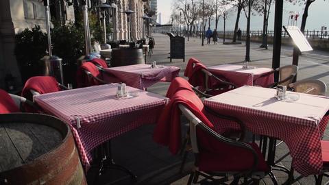 Restaurant terrace Live Action