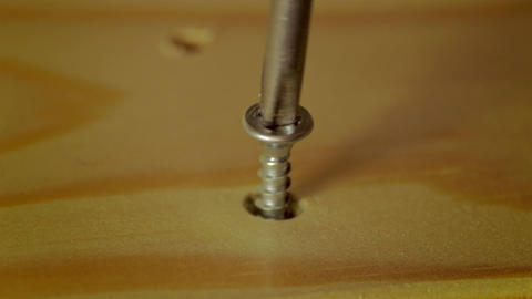 4K DIY Furniture Assembly Stock Video Footage