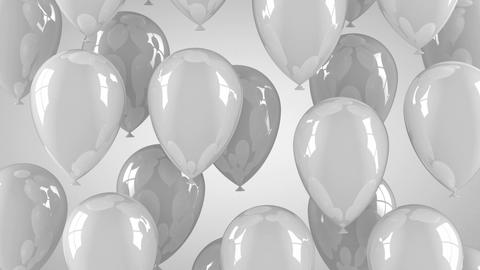 Gray Balloons Animation