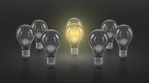 Bulbs Stock Video Footage