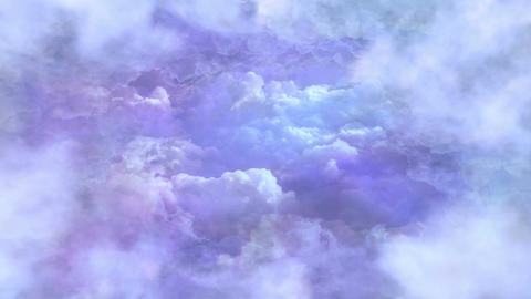 Flying In The Sky Background Animation