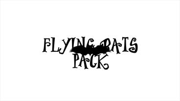 Flying Bats Pack After Effectsテンプレート