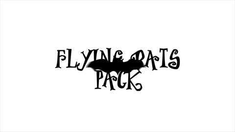 Flying Bats Pack After Effects Template