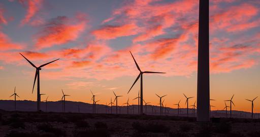 Sunrise Wind Farm California ビデオ