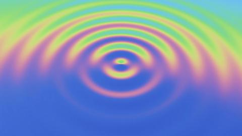 Rippple rainbow 01 動画素材, ムービー映像素材