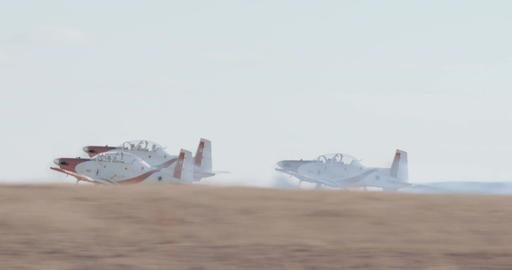 Israeli Air force Aerobatics team in formation flight during an airshow