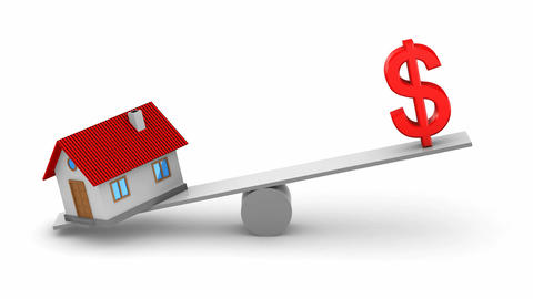 Change in real estate prices Animation