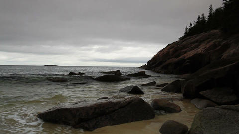 Acadia National Park. Maine, New England, USA Footage