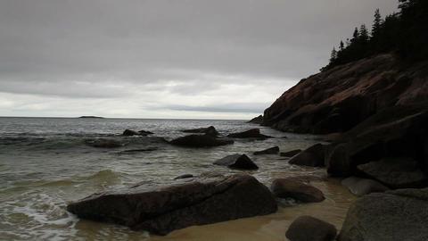 Acadia National Park. Maine, New England, USA Footage