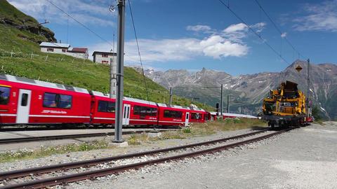 Alp Grum railway station Live Action
