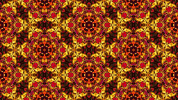 Colorful modern abstract ornamental kaleidoscope - multicolored pattern Animation