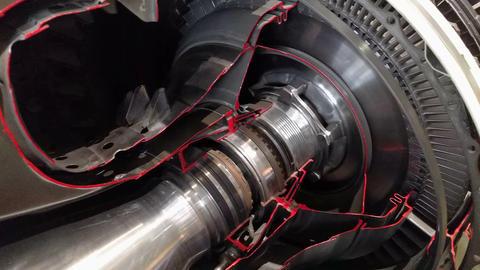 The jet engine 115617 Footage
