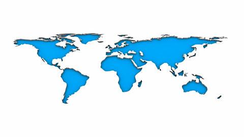 World Map Animation