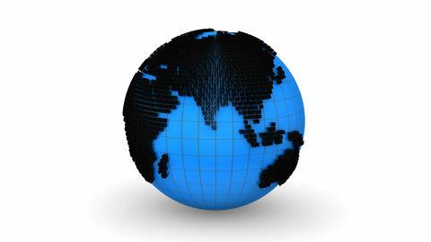 Global Information Animation