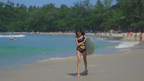 Healthy Active Lifestyle. Summer Vacations Footage
