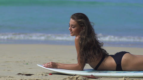 Summer Fun Beach Lifestyle Footage