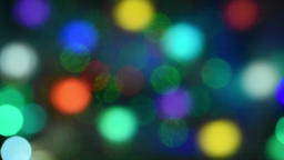 Abstract background of moving colored glowing circles Footage