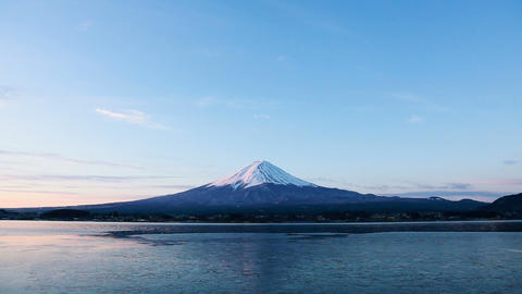 Mt.Fuji at dawn Footage