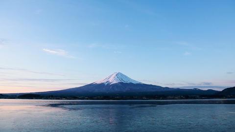Mt.Fuji at dawn Footage