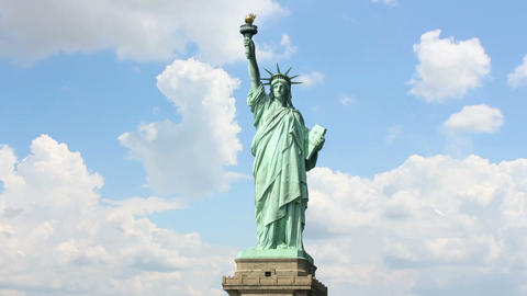 Statue liberty 2 Stock Video Footage