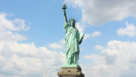 Statue  Liberty  2 stock footage