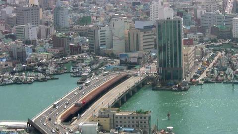 Temporary bridge Footage